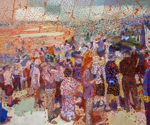 Days of the Festivals, 2007 oil on linen 168 x195 cm