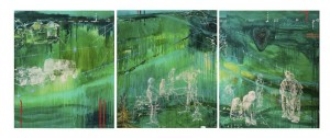 Tabisi, 2010 oil on linen 3 panels 180 x140cm each